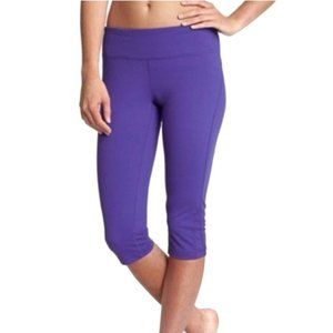 Zella Purple Carpi Leggings w/ Hidden Pocket-Sz XS